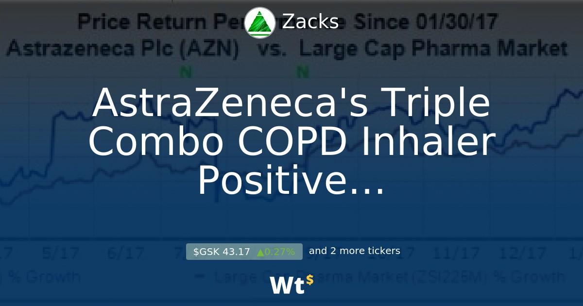 AstraZeneca's Triple Combo COPD Inhaler Positive in Phase III