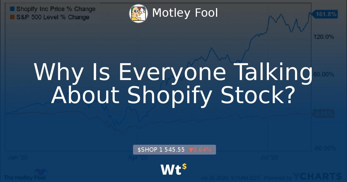 Why Is Everyone Talking About Shopify Stock