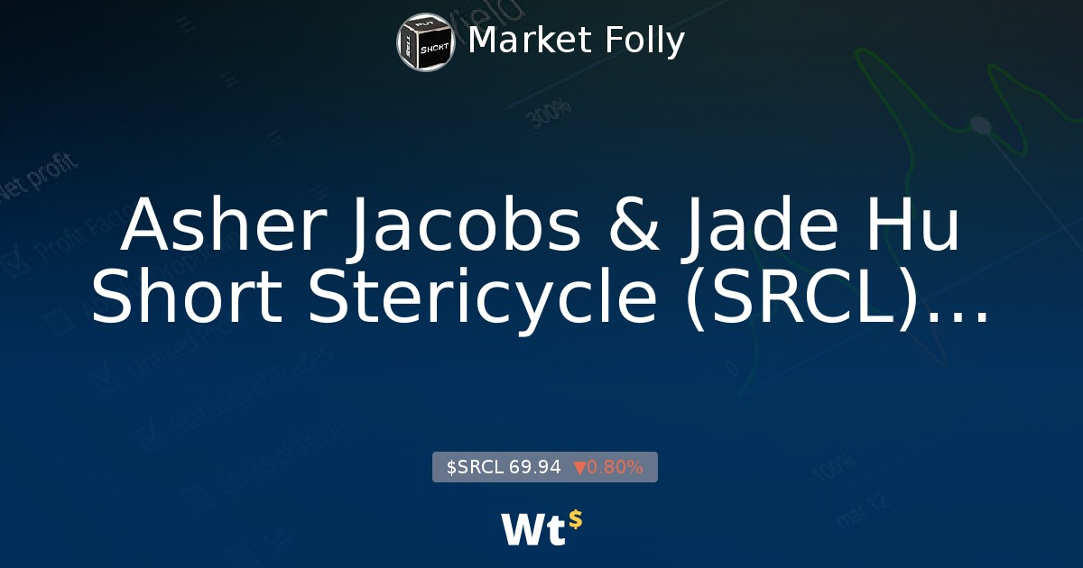 Post Asher Jacobs Jade Hu Short Stericycle Srcl Presentation