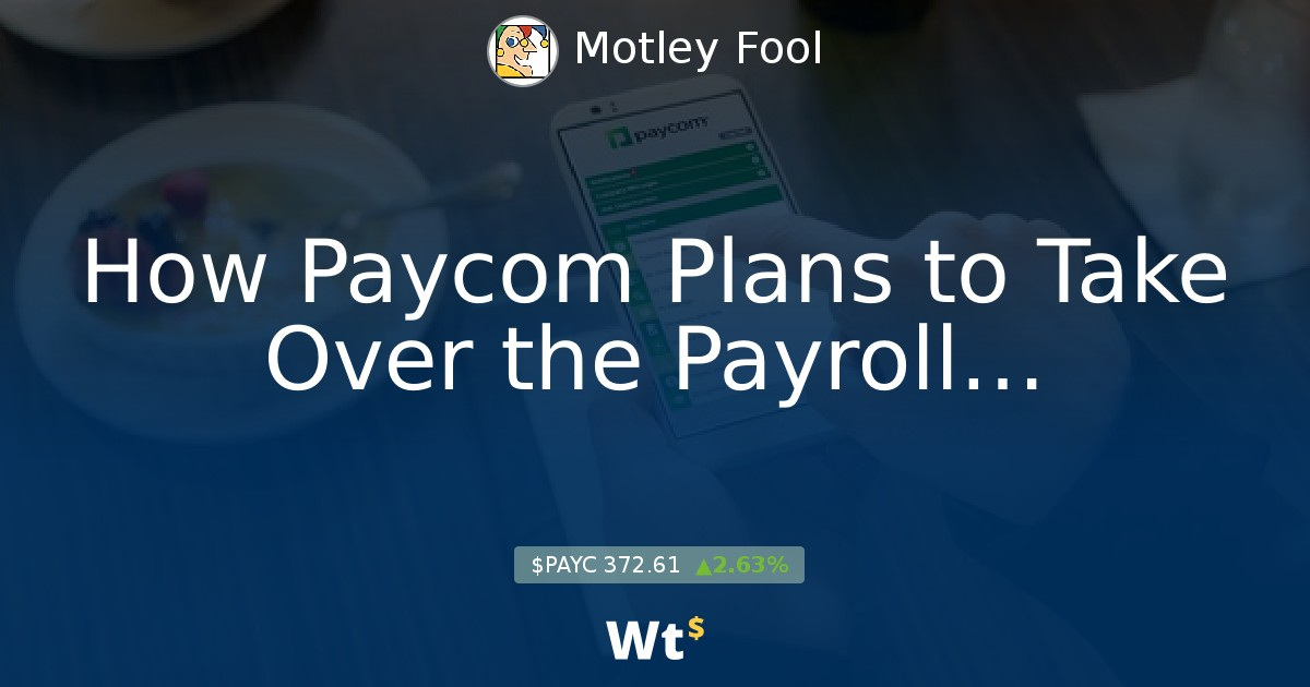 How Paycom Plan    - Feed