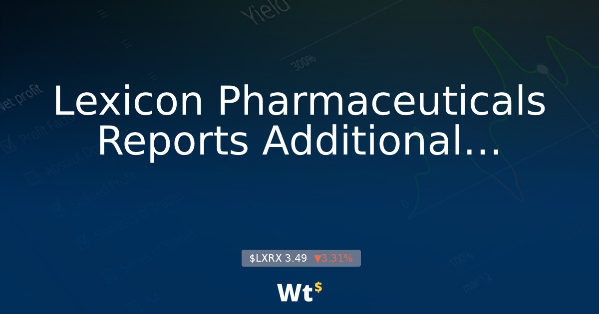 Lexicon Pharmac    - LXRX: Lexicon Pharmaceuticals, Inc