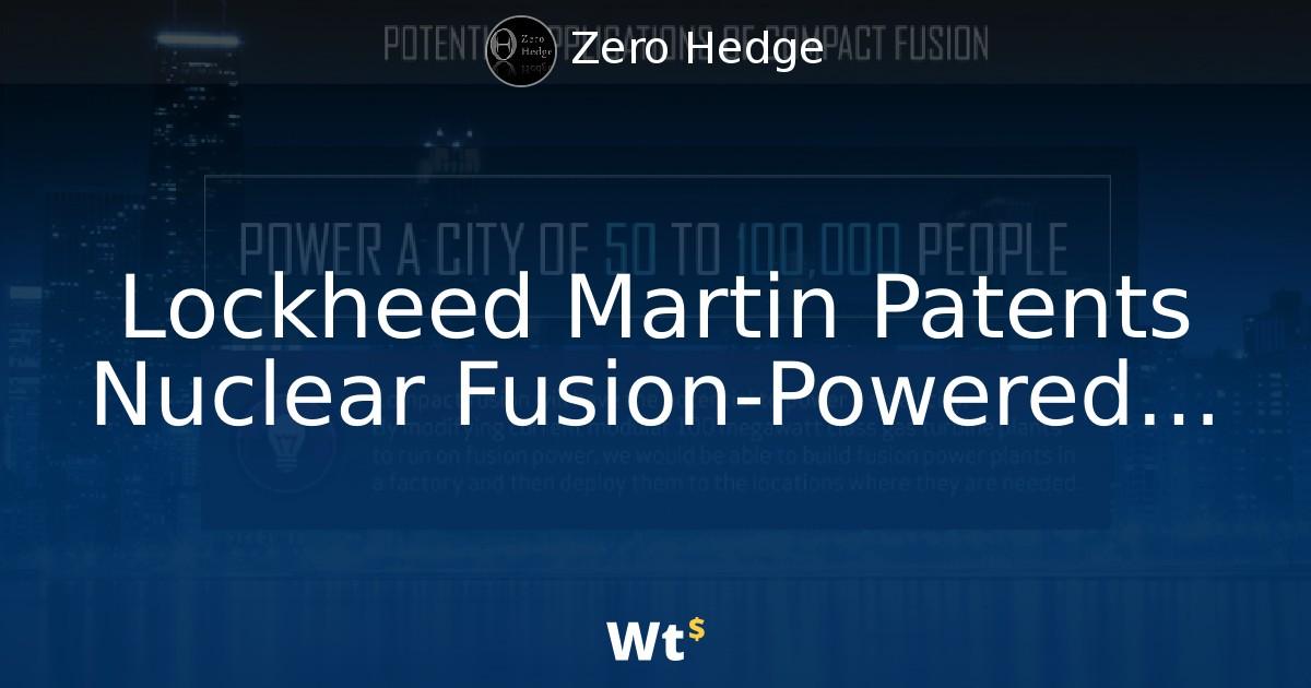 Resultado de imagen para lockheed martin fusion generator